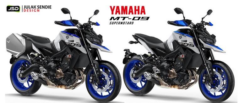 Yamaha MT-09 Supermotard