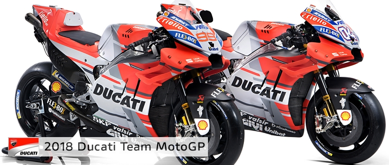 New Ducati Desmosedici GP18