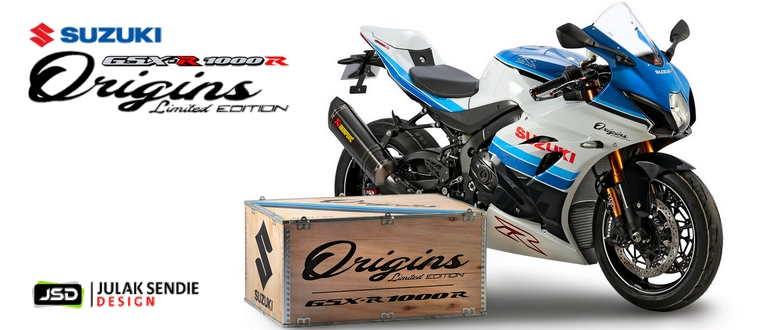 "Suzuki GSX-R 1000R ""Origins"" Limited Edition"
