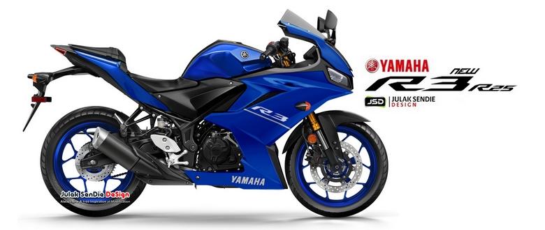 Custom Design New Yamaha R25 / R3 Facelift..?